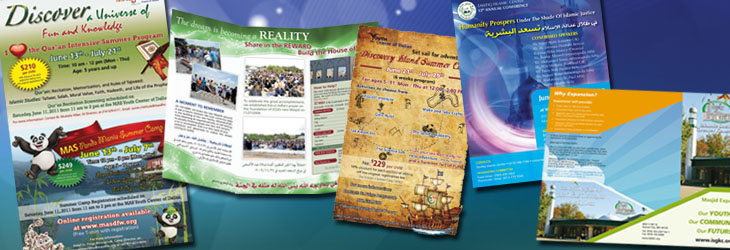 Brochures, Posters, & Fliers Design